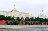 the view of Kremlin, Moscow