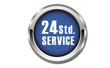 Button - 24 Stunden Service