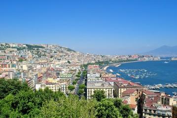 Veduta sulla città e Golfo di Napoli
