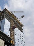 Condominium under construction poster