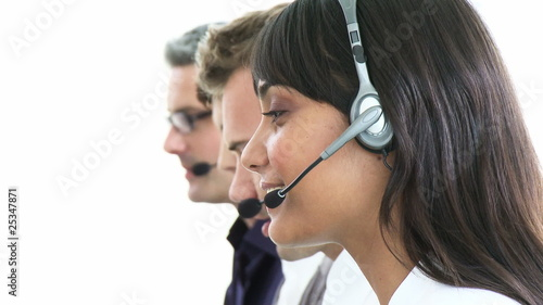 presentation of diversity in a call center