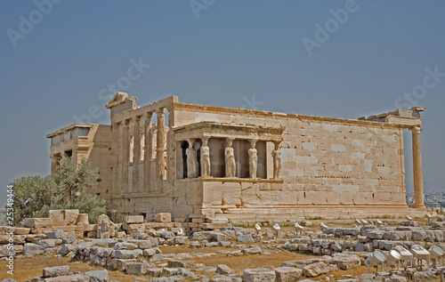 Erechtheum and Porch of Caryatids, Acropolis, Athens