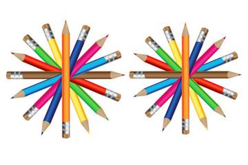 Farandole de crayons de couleur 3