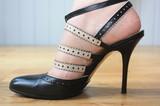 Défilé de mode - Chaussure talon aiguille poster