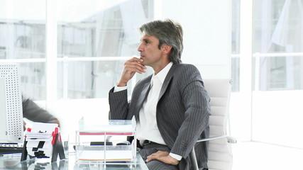business men having an argument