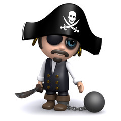 Convicted pirate