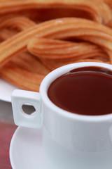 chorros con chocolate 2