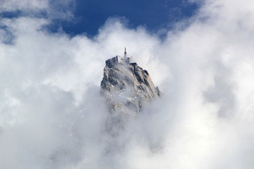 View of Aiguille Du Midi, France