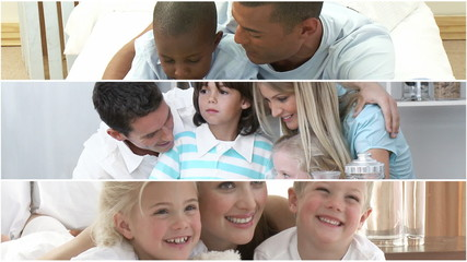films presenting three families