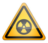 "Hazard Sign ""Danger - Radioactive"""
