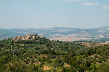 Montemerano - panorama