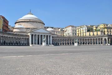 Piazza del Plebiscito - Napoli - Italia