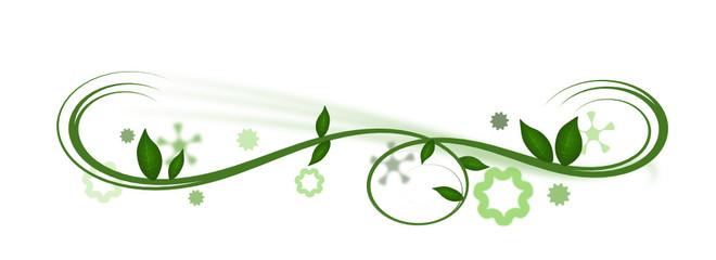 florales Blätterdesign