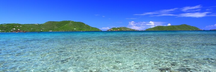 Caribbean island Tortola - British Virgin Islands