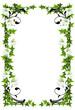 Lilienrahmen (mit Clippfad)