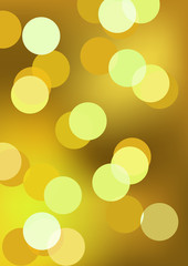 abstract glowing gold background