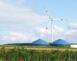 Alternative Energien - Biogas & Windenergie
