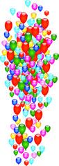 fliegende Luftballons