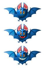 Smiling bats