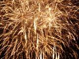 Fototapety heavy fireworks