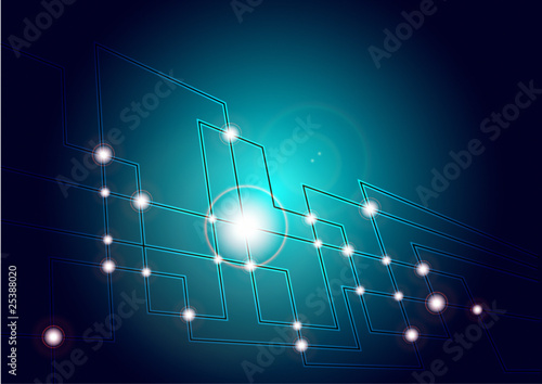 Abstract Background - Optical Background