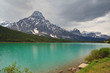 Waterfowl Lake Landscape