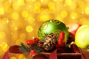 weihnachtliches Stilleben