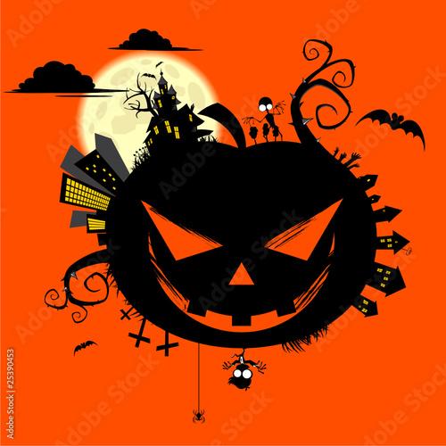 halloween k rbis motiv vorlage cartoon stockfotos und lizenzfreie vektoren auf. Black Bedroom Furniture Sets. Home Design Ideas