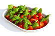 Tomate-Basilikum Salat