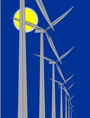 Wind energy power generation