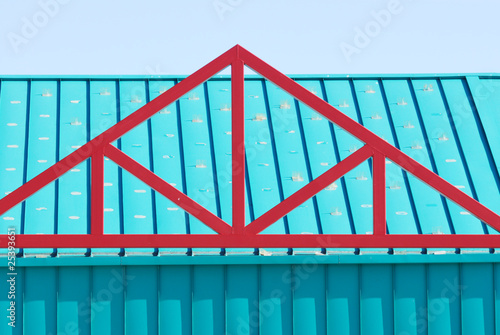 Red Roof Truss