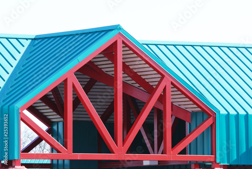 Decorative Roof Truss
