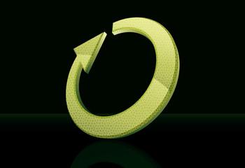 Green loop [cmyk]