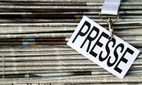 Presse Schild VII - 25396688
