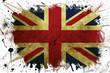Great Britain flag paint