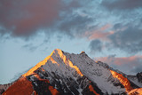 Fototapeta zachód - azja - Wysokie Góry
