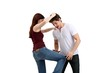 self-defence (on white background)