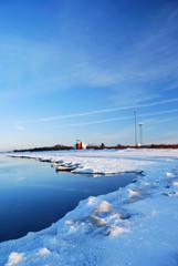 meteostation in winter