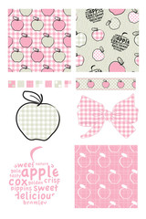 Vector Apple Patterns