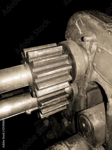 Zahnräder einer Werkzeugmaschine - cogs of machine tool