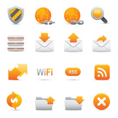 Internet Icons | Yellow 07