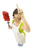 femme de ménage humour poster