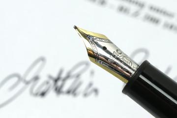 Unterschrift