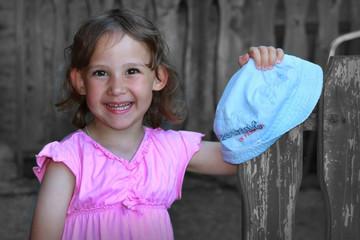 Der blaue Hut