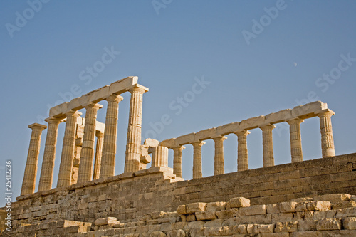 Temple of Poseidon at Cape Sounion, Greece