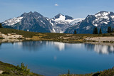 Beautiful Elfin Lakes Landscape
