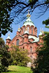 Успенский собор в Хельсинки. Финляндия