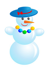 Fashion snowman