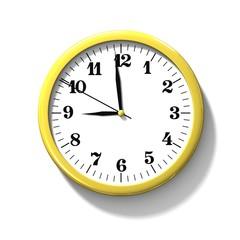 Classic clock. 3d illustation