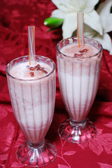 Red Bean Milk Shake
